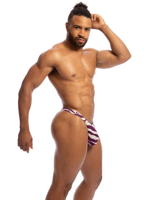 LB20 Little Beach Zebra Thong