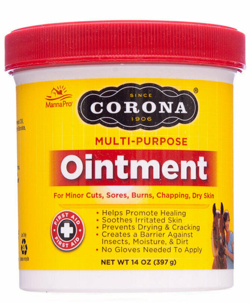 Corona Multi-Purpose Ointment for Horses, Cattle, Dogs, and Cats 14oz