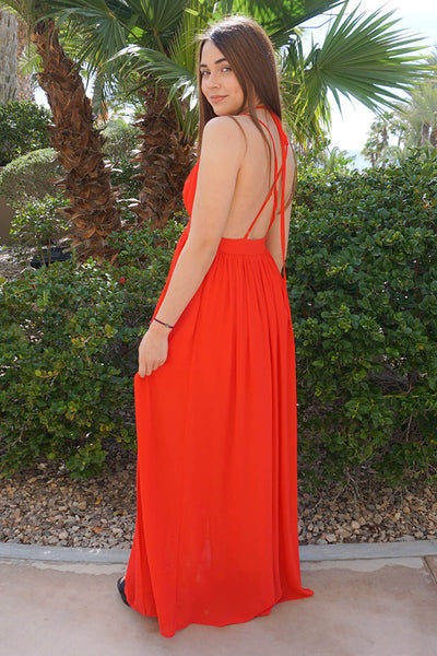 backless boutique dress - boutique maxi dress - affordable best selling dresses
