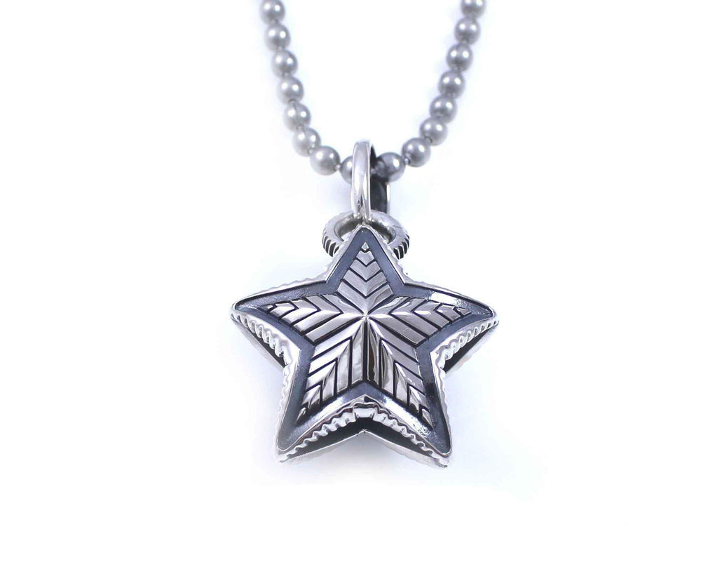 Reversible Star Pendant