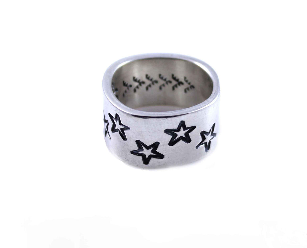Zig-Zag Star Stamp Ring