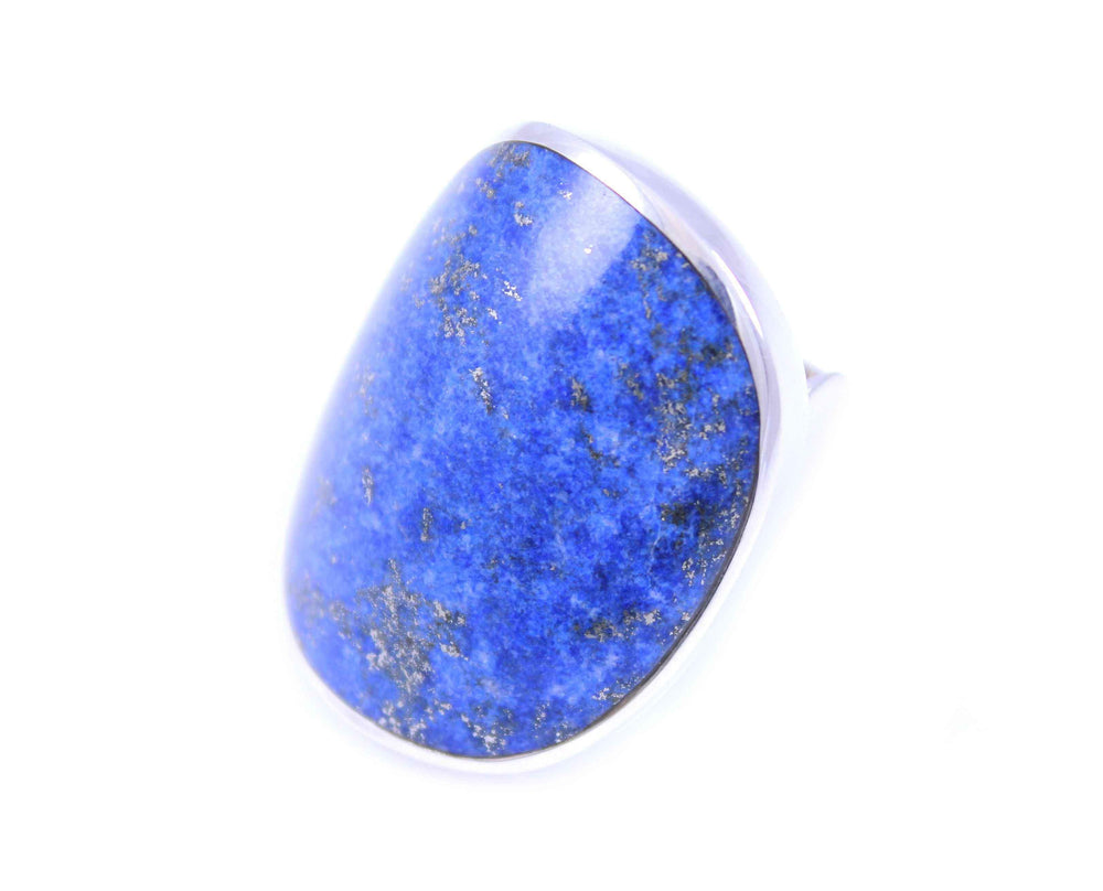 Gloria Sawin-Sorrel Sky Gallery-Jewelry-Denim Lapis Saddle Ring