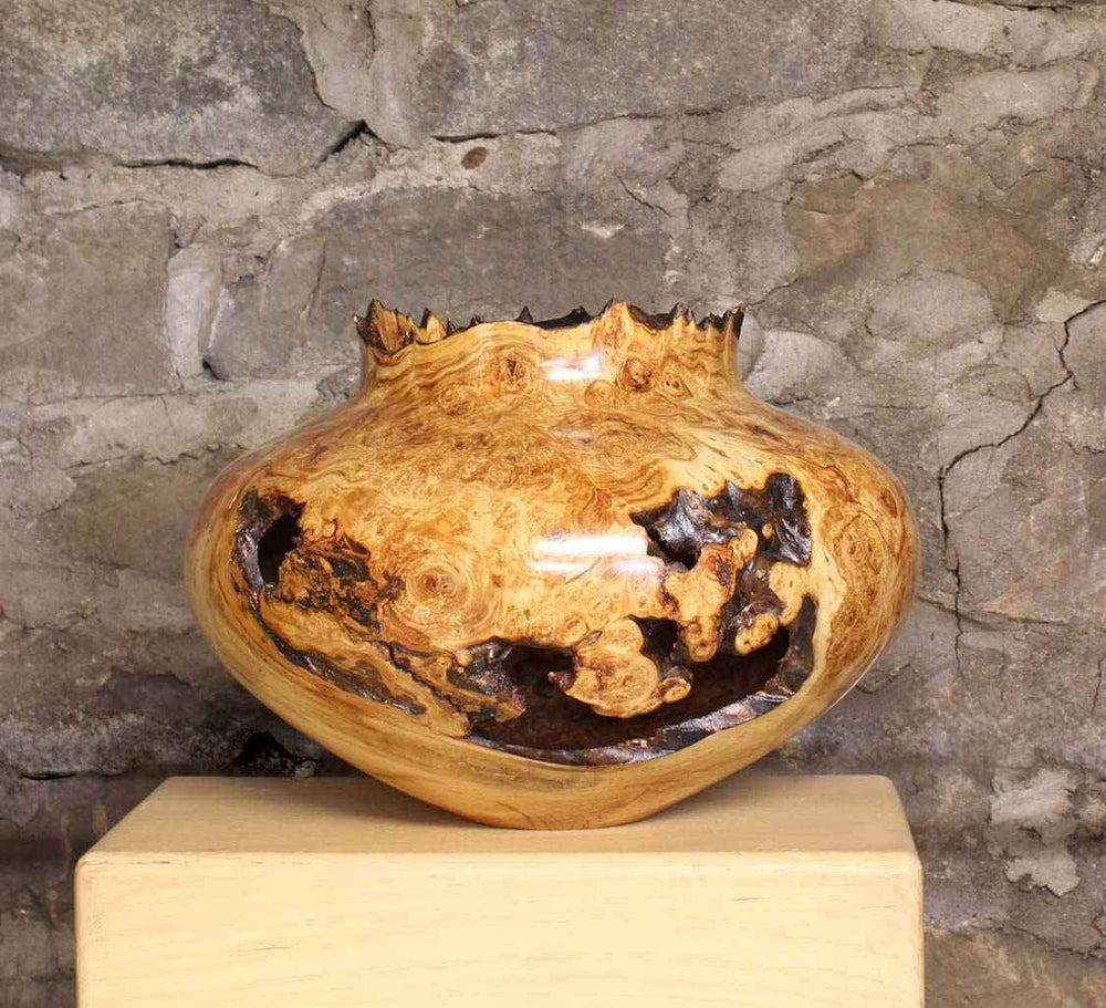 Aspen Burl Hollow Turning