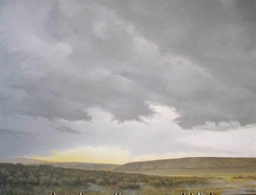 Jim Bagley-Sorrel Sky Gallery-Painting-Dry Creek Lake