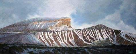 Jim Bagley-Sorrel Sky Gallery-Painting-Perins Peak