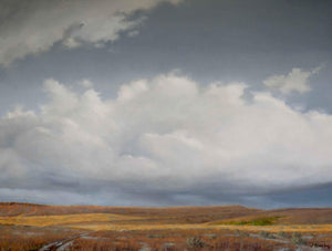 Jim Bagley-Sorrel Sky Gallery-Painting-Road To Willow Spring