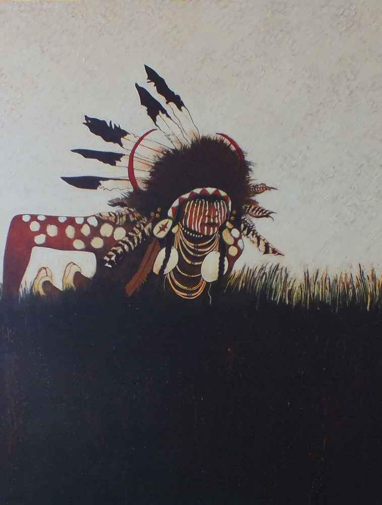 Crow Indian Scout/Two Strikes