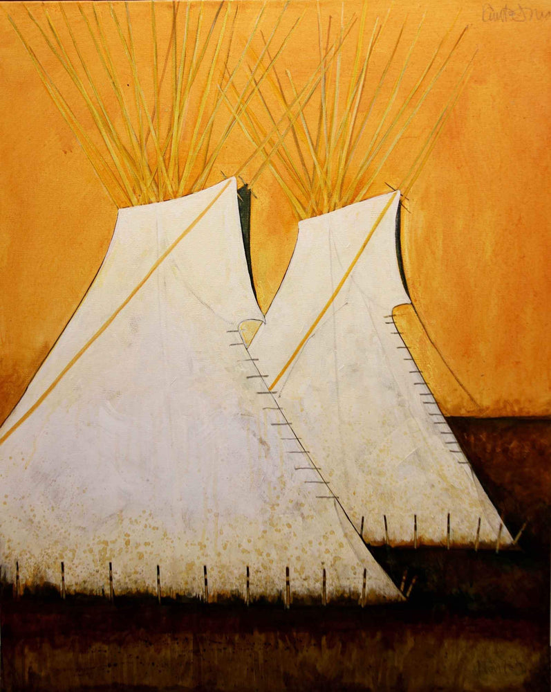 Crow Indian Style Tipi