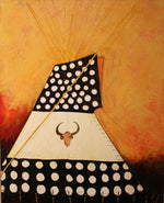 Painted Northern Plains Style Tipi