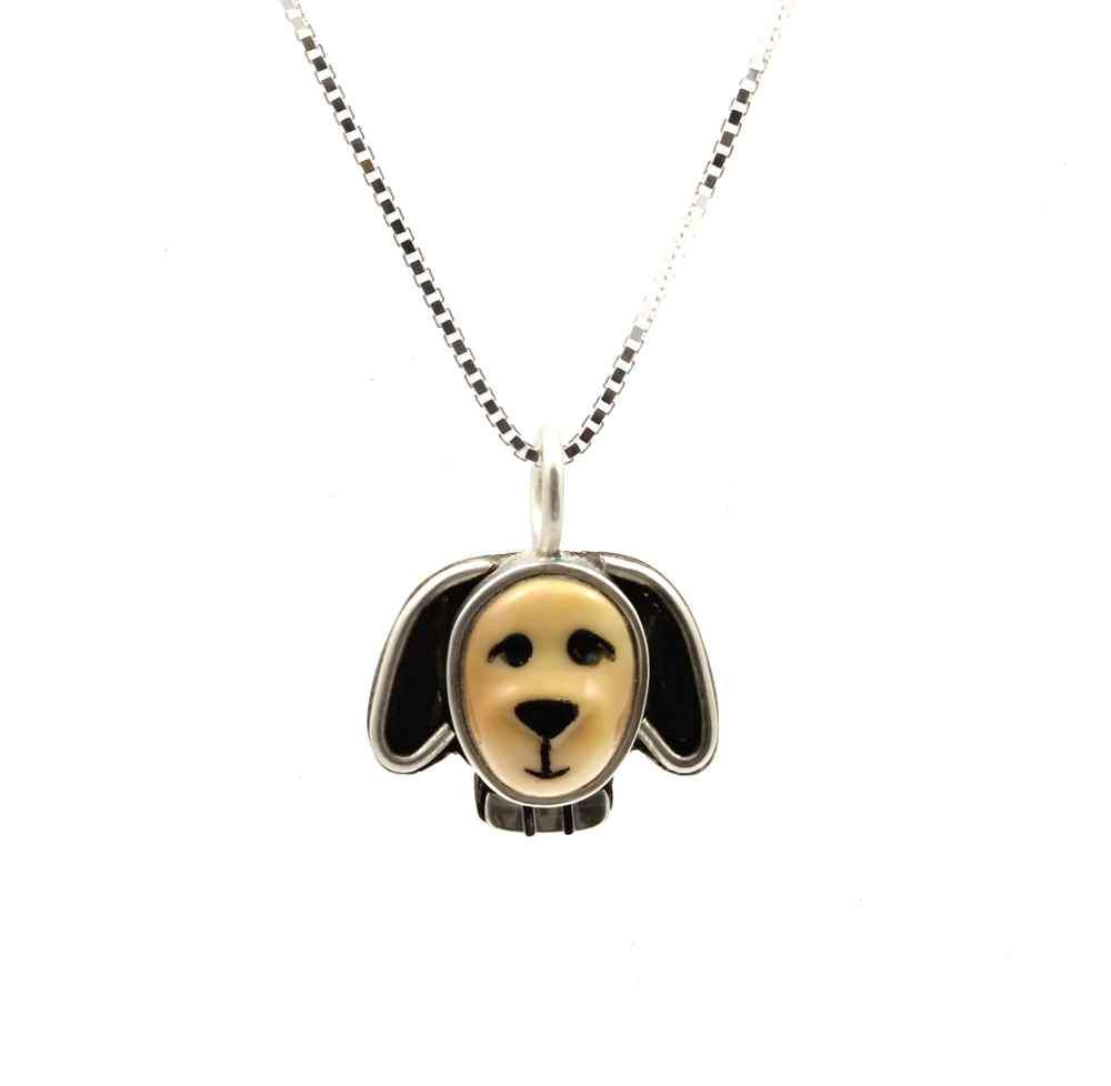Floppy Eared Dog Pendant