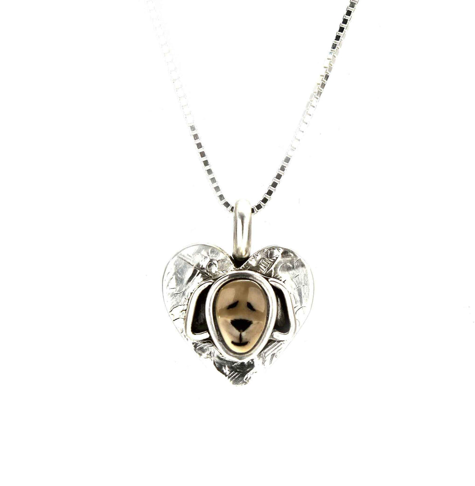 Puppy Heart Pendant