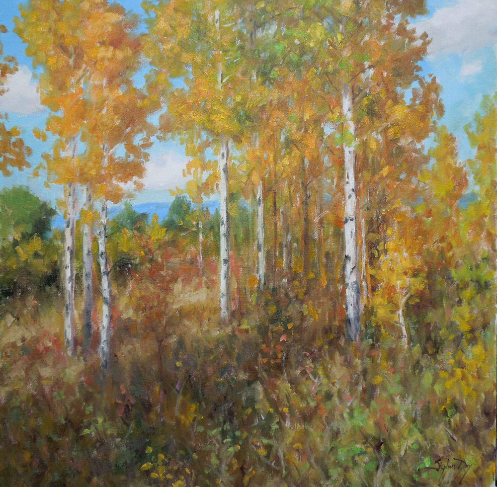 Stephen Day-Fall Morning-Sorrel Sky Gallery-Painting