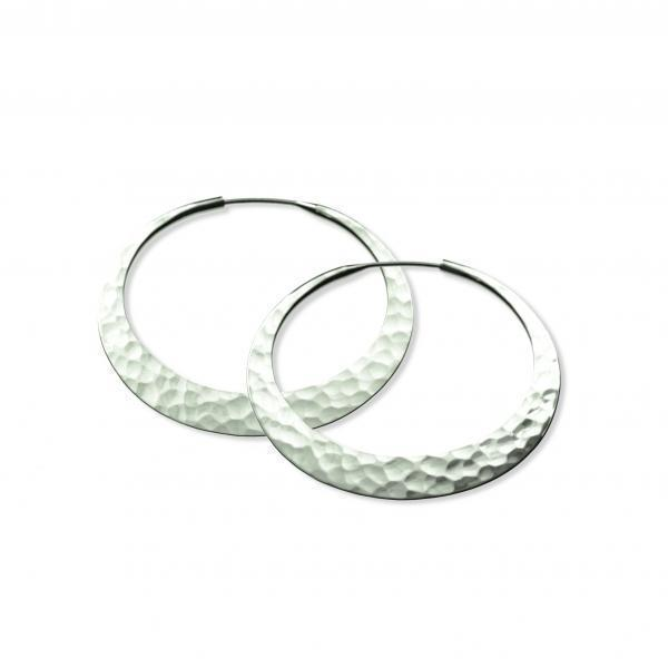 32mm Eclipse Hoop Earrings
