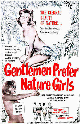 Gentlemen Prefer Nature Girls - 1963 - Movie Poster