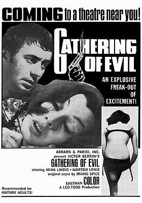 Gathering of Evil - 1969 - Movie Poster