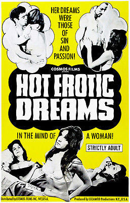 Hot Erotic Dreams - 1968 - Movie Poster