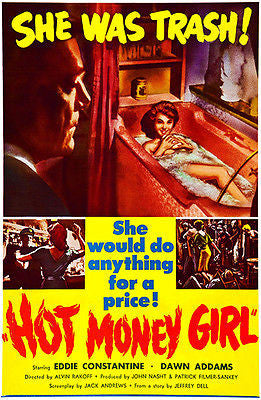 Hot Money Girl - 1959 - Movie Poster
