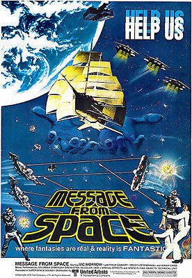 Message From Space - 1978 - Movie Poster
