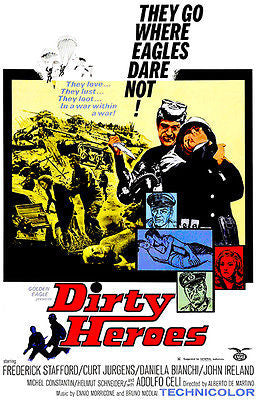 Dirty Heroes - 1967 - Movie Poster