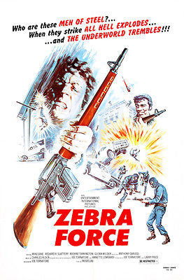 Zebra Force - 1976 - Movie Poster