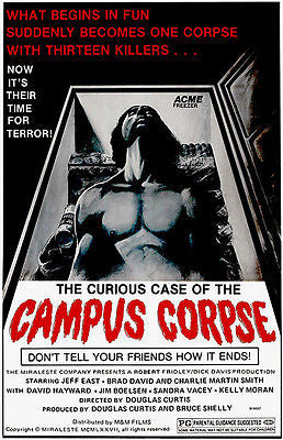The Curious Case of the Campus Corpse - 1977 - Movie Poster