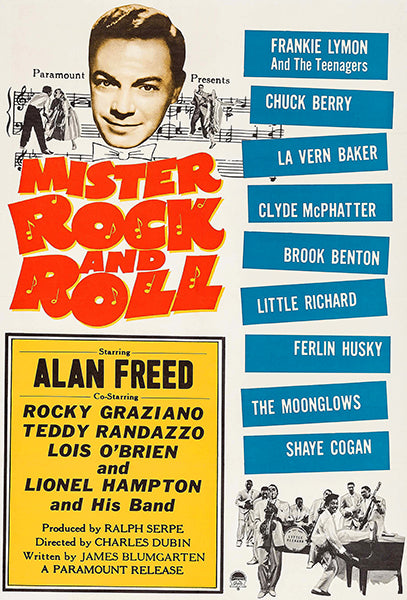 Mister Rock And Roll - 1957 - Movie Poster