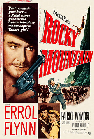 Rocky Mountain - 1950 - Movie Poster