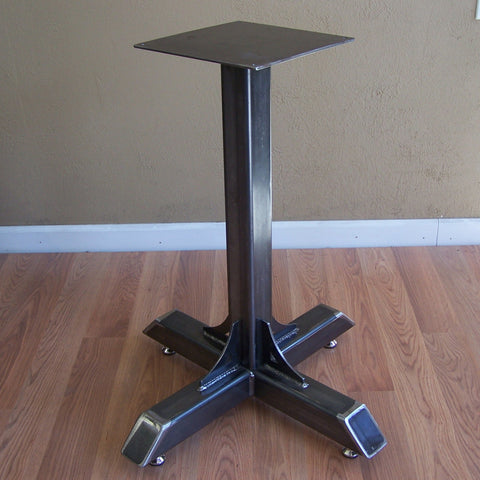 Bistro Style Industrial Steel Cafe Table Base