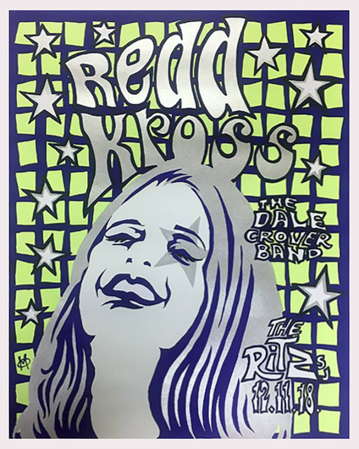 REDD KROSS / DALE CROVER BAND - San Jose 2018 by Mike Murphy