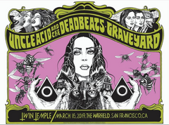 UNCLE ACID AND THE DEADBEATS / GRAVEYARD - San Francisco 2019 by Alan Forbes & Caitlin Mattisson