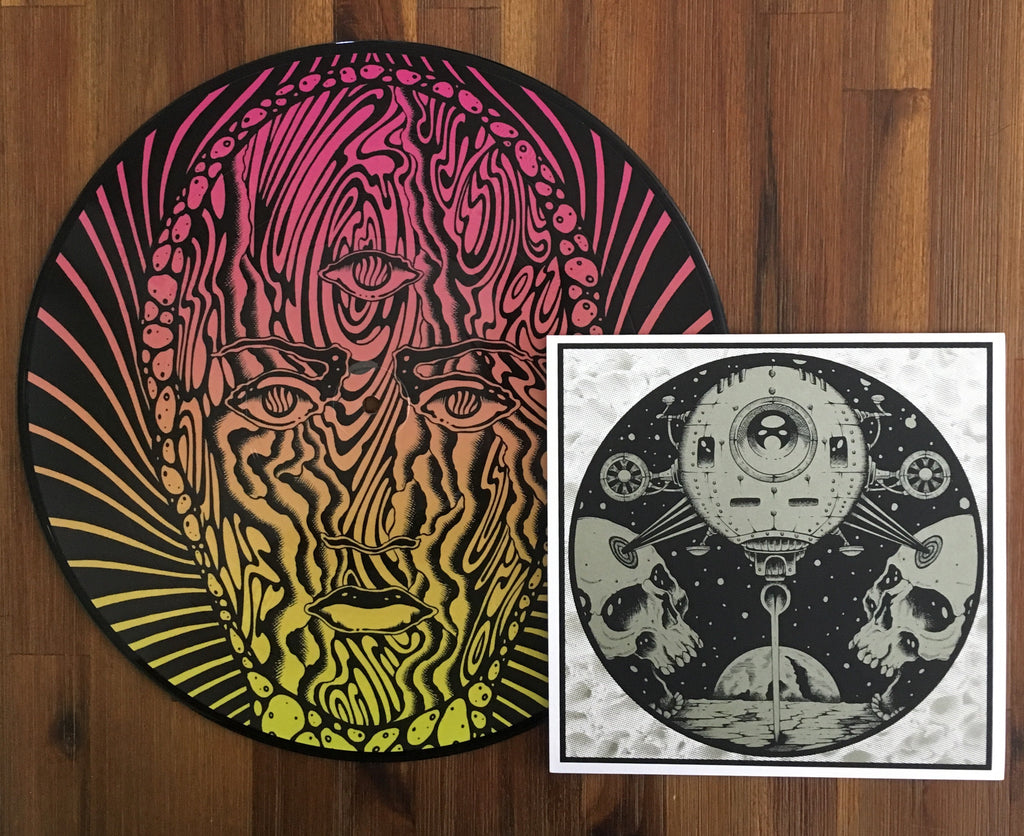 "WHITE MANNA 'Come Down Safari' 12"" + WHITE MANNA / PHANTOM SHIPS split 7"" - bundle"