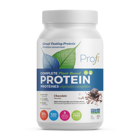 Complete Plant-based Protein Chocolate 800g- Profi - Health & Body Nutrition