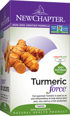 Turmeric Force™ - 120caps - NewChapter - Health & Body Nutrition