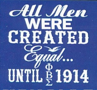 All Men Were Created