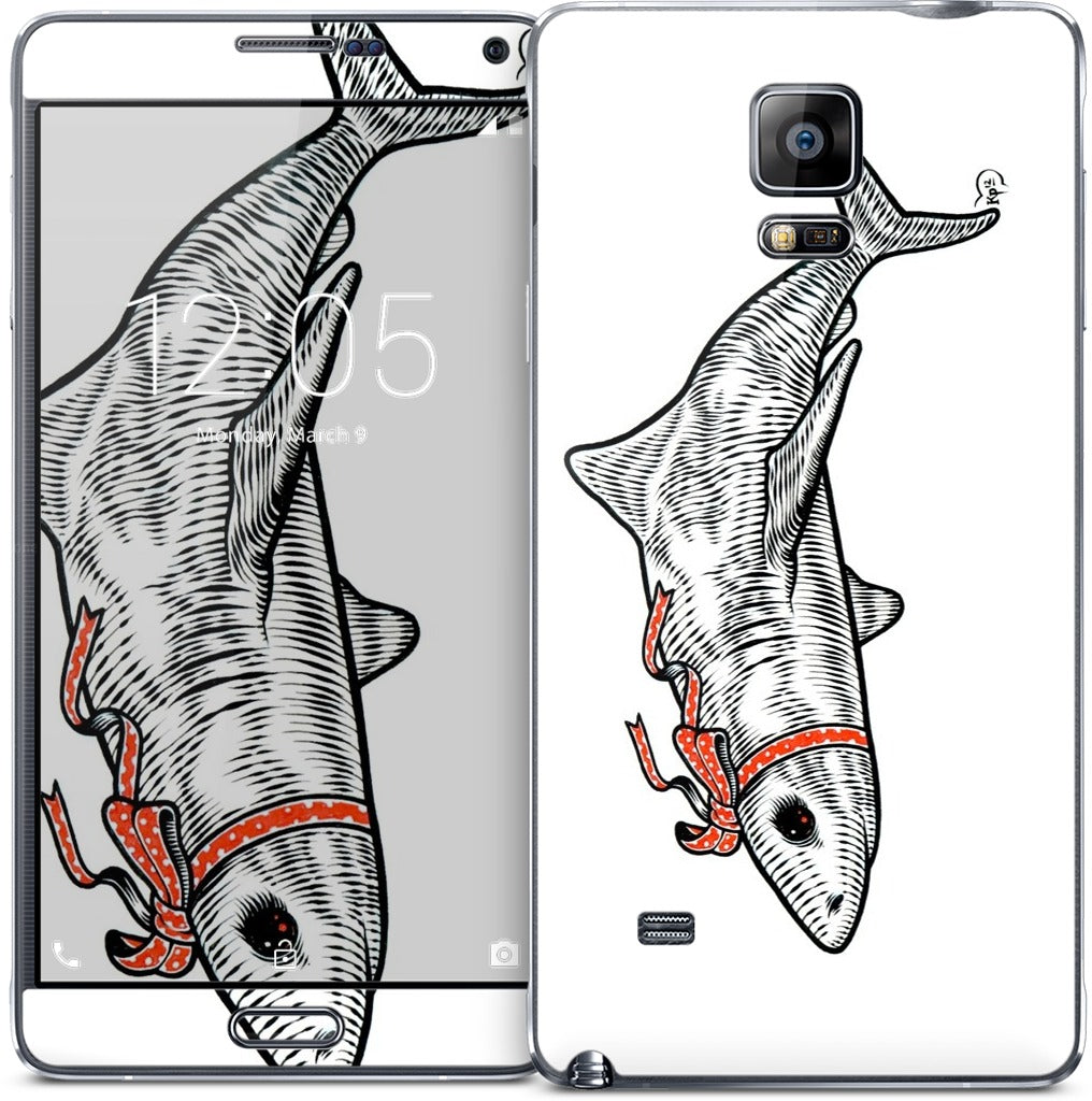 Lady Shark Samsung Skin