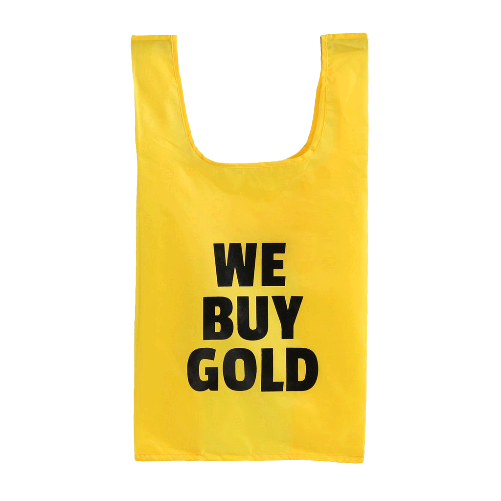 We Buy Gold Tote Bag