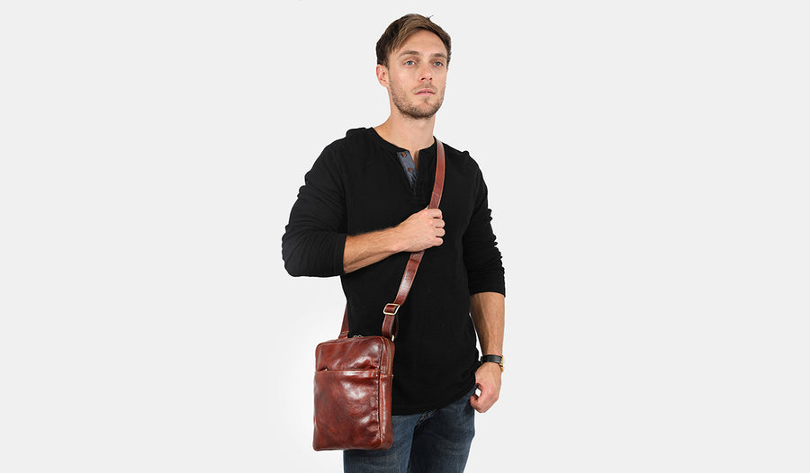 Gaius Brown - Leather Satchel