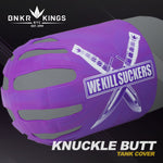 Bunker Kings - Knuckle Butt Tank Cover - WKS Knife - Purple