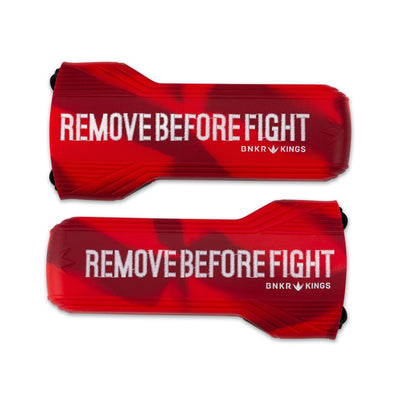 Bunker Kings - Evalast Barrel Cover - Remove Before Fight - Red