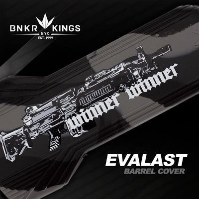 Bunker Kings - Evalast Barrel Cover - Winner Winner - Black