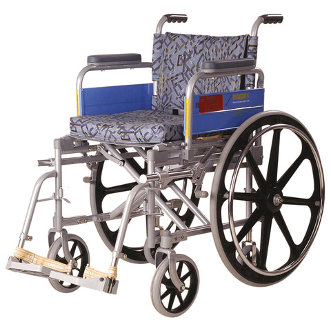 Wheel Chair- Deluxe/Folding/Mag Wheels