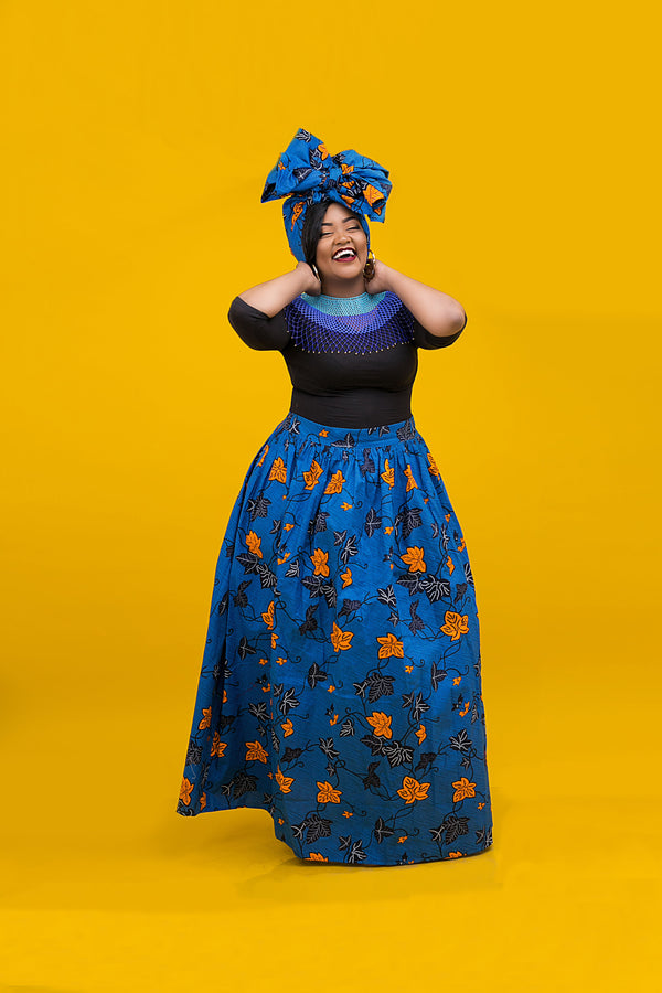 Rock African print in our plus size collection