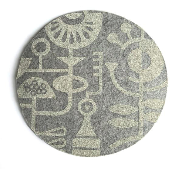 Mouse pad custom felt eco-friendly perfect for gaming and office.
