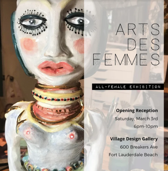 Arts des Femmes, an all female art show!