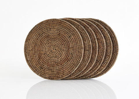 Round Placemats Sml Set of 6