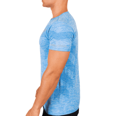 Azure Blue Men's Activewear T Shirts - Ventelite Physiotherapy Kenmore and Activewear