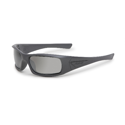 ESS 5B Sunglasses Gray Frame Mirrored Gray Lenses - WarriorInc Tactical Gear