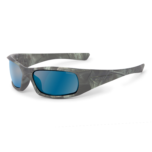 ESS 5B Sunglasses Reaper Woods Frame Mirrored Blue Polarized Lenses - WarriorInc Tactical Gear