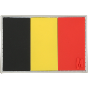 Maxpedition Morale Patch Belgium Flag Patch - WarriorInc Tactical Gear