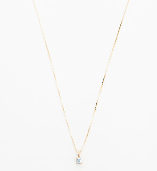 Aquamarine Element Necklace